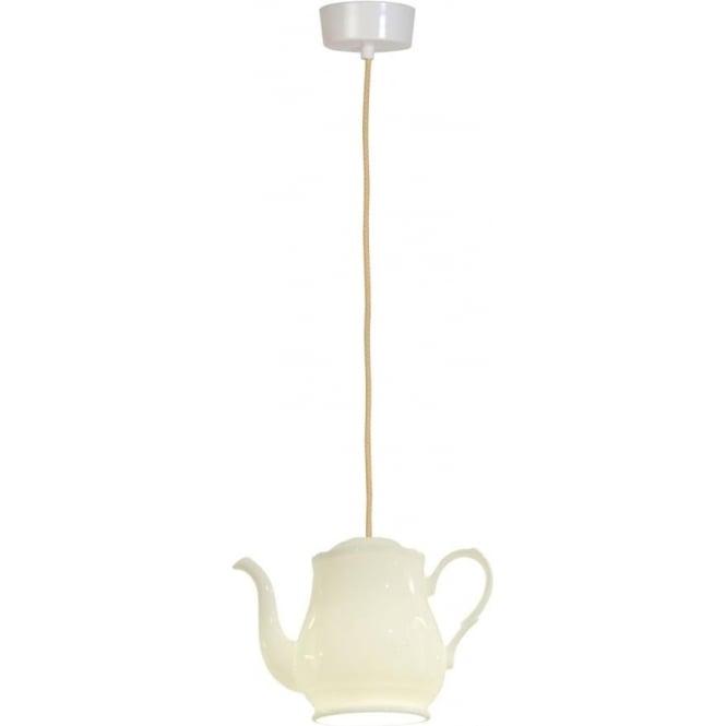Original BTC Lighting Tea 5 pendant light - white