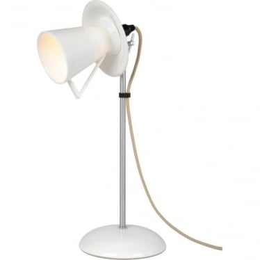 Teacup table light - White
