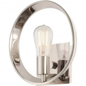 Theater Row Wall Light Imperial Silver