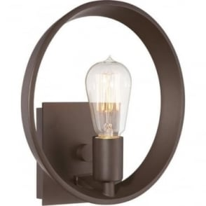 Theater Row Wall Light Western Bronze