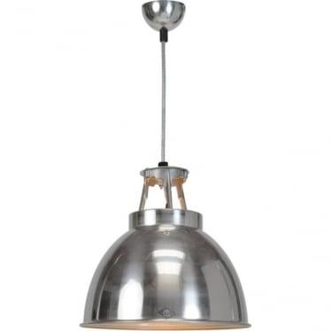 Titan Pendant Light  - size 1- Natural Aluminium