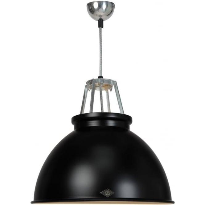 Original BTC Lighting Titan Pendant Light with Coloured Interior - size 3 - colour options