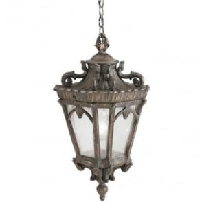 Tournai extra large chain lantern - Bronze