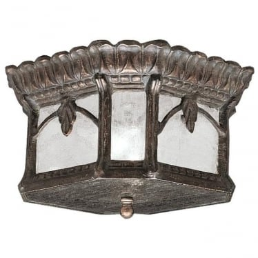 Tournai flush mount fitting - Bronze