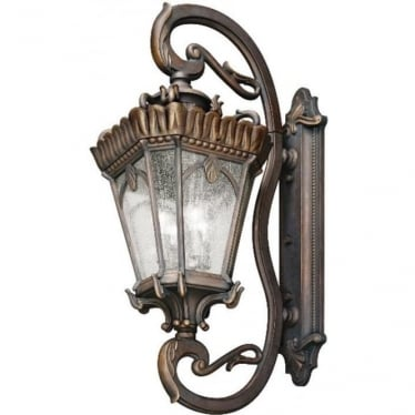 Tournai grand extra large wall lantern - Bronze