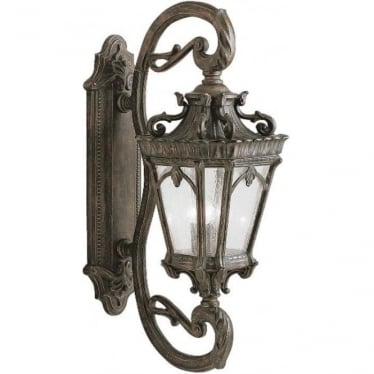 Tournai grand wall lantern - Bronze