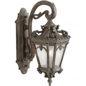 Tournai large wall lantern - Bronze