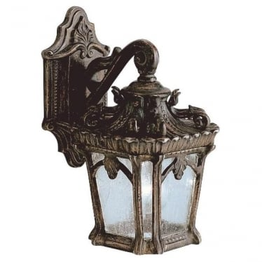Tournai small wall lantern - Bronze