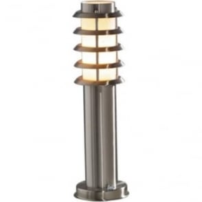 Trento gate post - stainless steel 7561-000