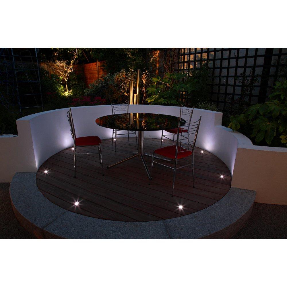 uniled led lighting uniled led lighting box set of square deck