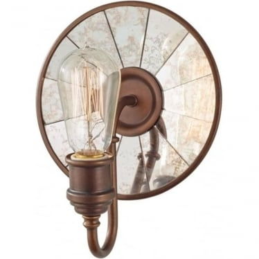 Urban Renewal Single Wall Light Astral Bronze