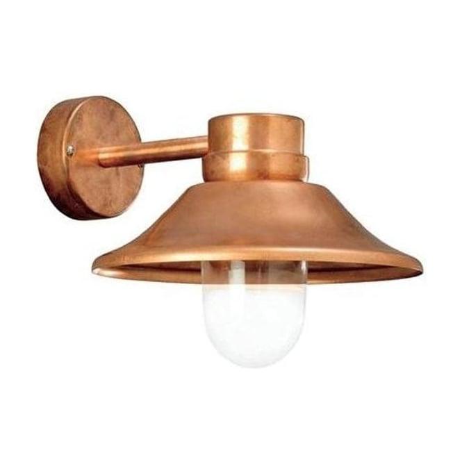Konstsmide Garden Lighting Vega wall light LED - copper 412-900