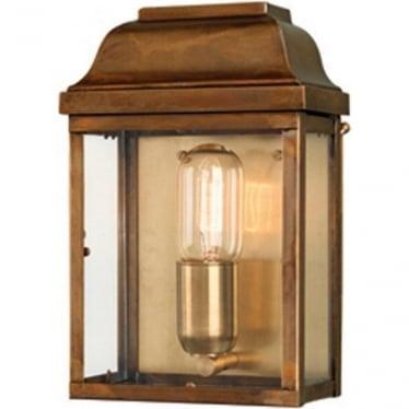 Victoria Wall Lantern - Brass