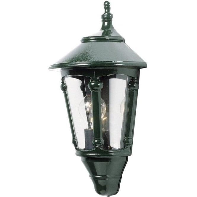 Konstsmide Garden Lighting Virgo flush wall light - green 569-600