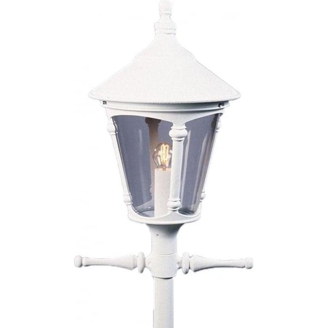Konstsmide Garden Lighting Virgo single head - white 570-250