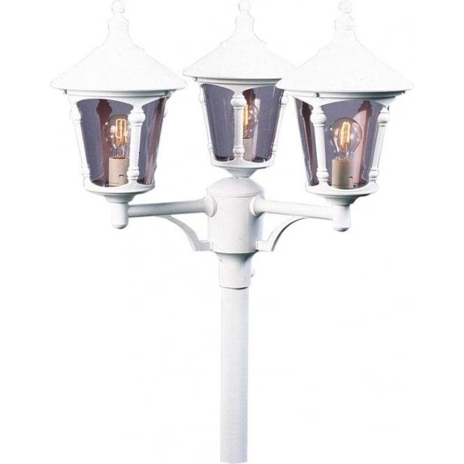 Konstsmide Garden Lighting Virgo triple head - white 573-250