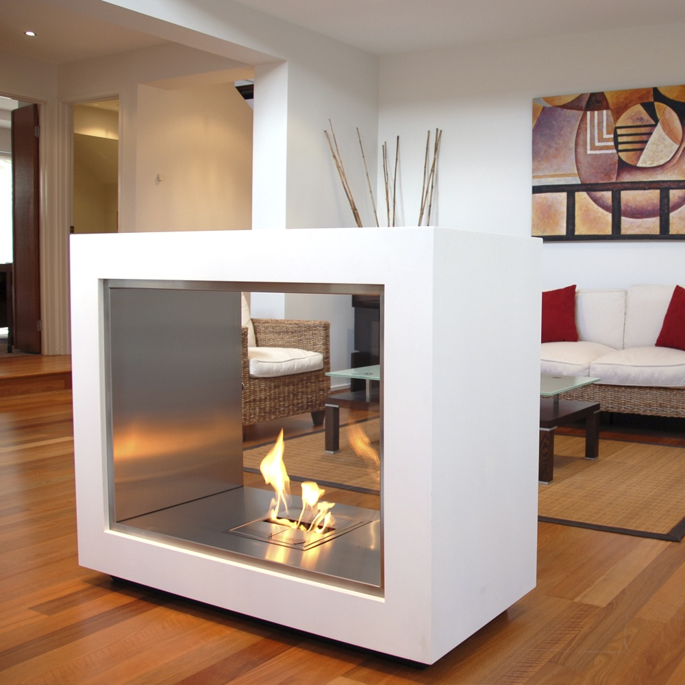 Buy EcoSmart Fire by Vision - Free-standing Designer Fireplace from our Exterior Lights range - Stainless Steel