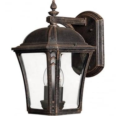 Wabash Medium Wall Lantern Mocha