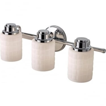 Wadsworth 3 Light Above Mirror Light Polished Chrome