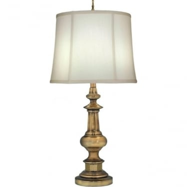 Washington Table Lamp Antique Brass