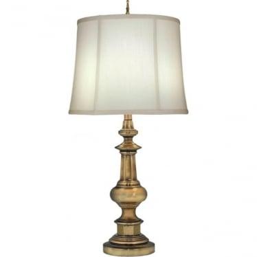 Washington Table Lamp Antique Brass