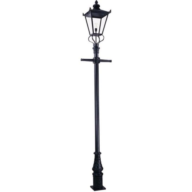 Elstead Lighting Wilmslow Lamp Post - Black