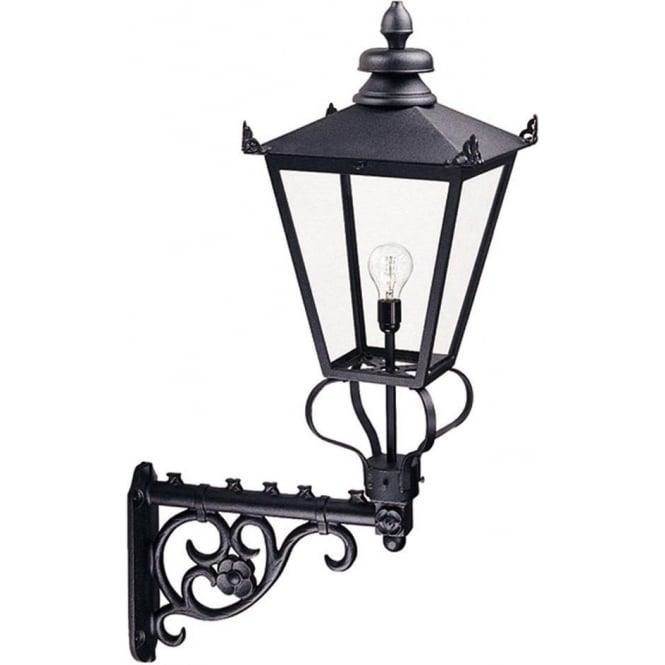 Elstead Lighting Wilmslow Wall Lantern - Black