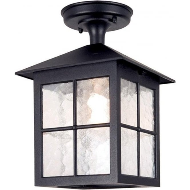 Elstead Lighting Winchester Rigid Tube Lantern - Black