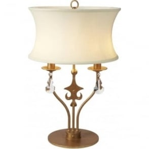 Windsor Table Lamp Gold Patina