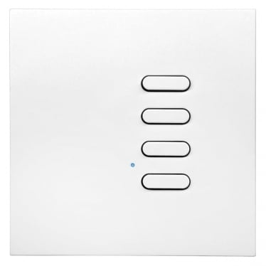 Intense Wireless Wall Switch - 4 button - white