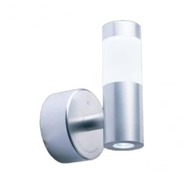 WL060 MAINS LED halo/flood wall light - Aluminium