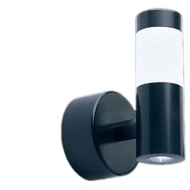 WL160 MAINS LED halo/flood wall light - Aluminium