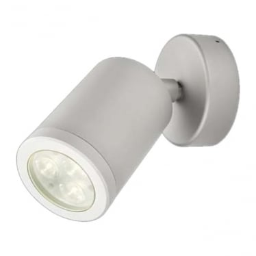 WL220A LED wall light - anodised aluminium - Low voltage