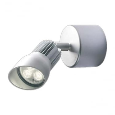 WL240A F mains LED wall light - Aluminium