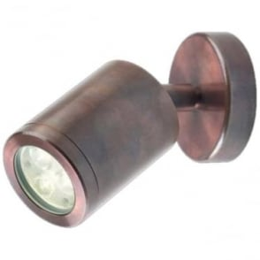 WL320A Copper LED wall light - Copper - Low voltage