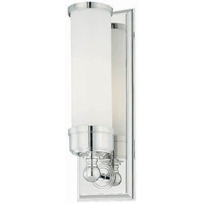 Elstead Lighting Worcester Single Wall Light Polished Chrome