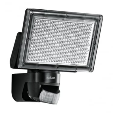 XLED Home 1 LED Floodlight with PIR - black