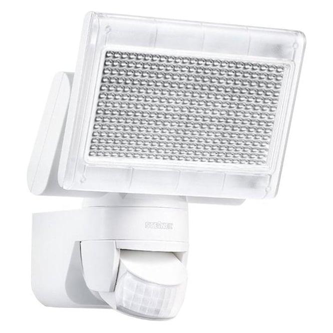 steinel sensor lighting xled home 1 led floodlight with pir white steinel sensor lighting. Black Bedroom Furniture Sets. Home Design Ideas