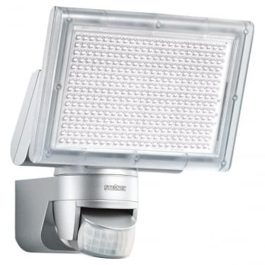 XLED Home 3 LED Floodlight with PIR - silver