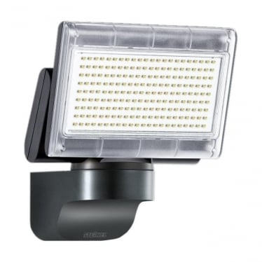 XLED Home 3 Slave LED Floodlight without PIR - black