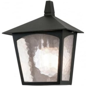 York Flush Half Lantern BL15 Black