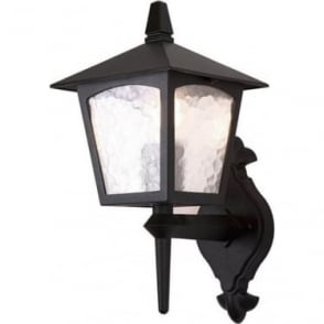 York Wall Up Lantern - Black